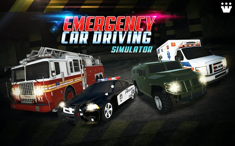 screenshot of Emergency Car Driving Simulator version 1.0