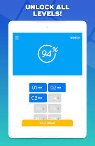 screenshot of 94% - Quiz, Trivia & Logic version Varies with device