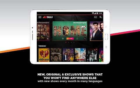 screenshot of ALTBalaji version Varies with device