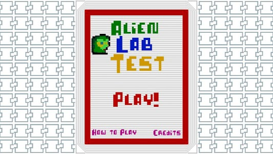 screenshot of Alien Laboratory Test version 1.7