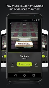screenshot of AmpMe - Social Music Party version 3.7.6