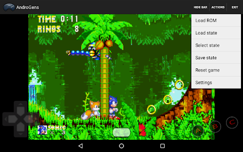 screenshot of AndroGens version 1.17