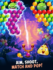 screenshot of Angry Birds POP Bubble Shooter version 3.43.0
