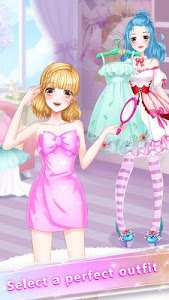 screenshot of Anime Girl Fashion Makeup version 1.8.3967
