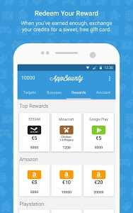 screenshot of AppBounty – Free gift cards version 2.6.3