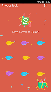 screenshot of AppLock Theme - New Year version 1.5