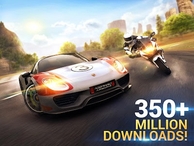 screenshot of Asphalt 8: Airborne - Fun Real Car Racing Game version 4.3.0j