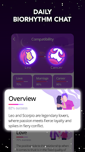 screenshot of Astrology horoscope, palm reader, tarot: Astroline version 1.7.0