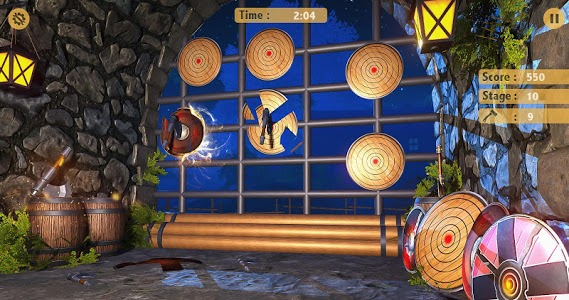 screenshot of Axe Throwing 2019 - Axe Hit The Target Games 2019 version 1.0