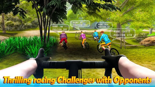 screenshot of BMX Offroad Bicycle Racing Adventure version 1.1.01