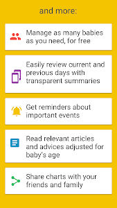 screenshot of Baby Manager - Breastfeeding Log and Tracker version 352