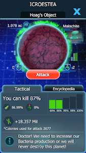 screenshot of Bacterial Takeover - Idle Clicker version 1.27.0