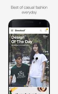 screenshot of Bewakoof Online Shopping App version 1.0.97