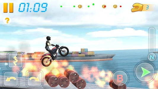 screenshot of Bike Racing 3D version 2.4