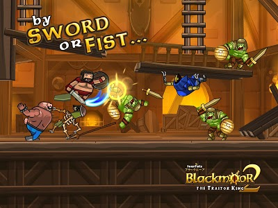 screenshot of Blackmoor 2: Fantasy Action Platformer version 6.0