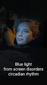 screenshot of Blue Light Filter - Night Mode, Eye Care version Varies with device