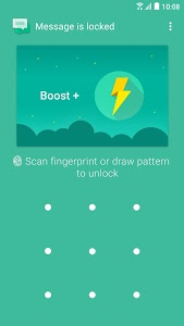 screenshot of Boost+ Speed, Clean, Security version Varies with device