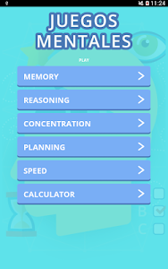 screenshot of Brain Games version 3.0