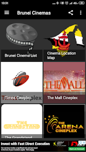 screenshot of Brunei Cinemas version 1.2019.05.28