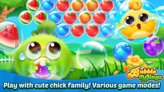 screenshot of Bubble Wings: offline bubble shooter games version 1.3.5