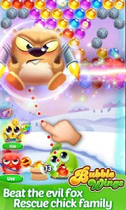 screenshot of Bubble Wings: offline bubble shooter games version 1.8.7