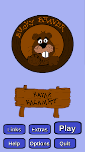 screenshot of Bucky Beaver's Kayak Kalamity version 1.2.1
