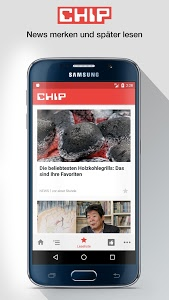 screenshot of CHIP - News, Tests & Beratung version 5.2.2