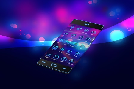 screenshot of Neon 2 | HD Wallpapers - Theme version v9.2.0