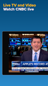 screenshot of CNBC: Breaking Business News & Live Market Data version Varies with device