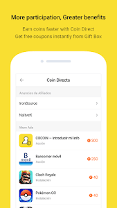 screenshot of COCOIN - All benefit from Lock-screen version 2.2.19