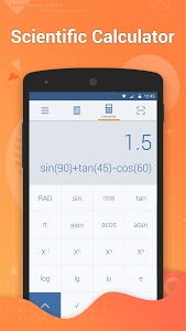screenshot of Calculator Pro – Get Math Answers by Camera version 2.0.2
