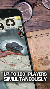 screenshot of Call of War - WW2 Strategy Game Multiplayer RTS version 0.58