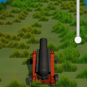 screenshot of Cannon Blast version 0.5