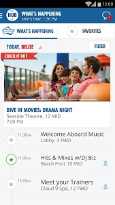 screenshot of Carnival HUB - CARNIVAL BREEZE version 1.2.0