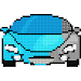 Cars Color by Number - Pixel Art, Sandbox Coloring