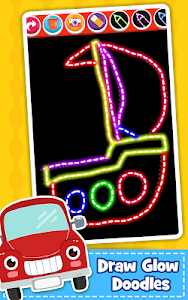 screenshot of Cars Coloring Book for Kids - Doodle, Paint & Draw version Varies with device