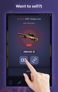 screenshot of Case Royale - case opening simulator for CS GO version 1.8.7f
