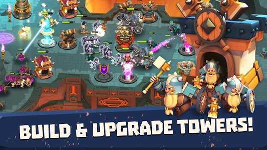screenshot of Castle Creeps TD - Epic tower defense version 1.48.0