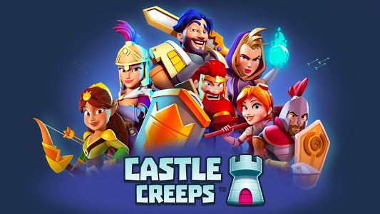 screenshot of Castle Creeps TD version 1.23.0
