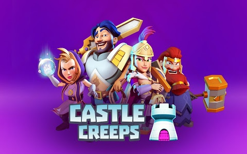 screenshot of Castle Creeps TD version 1.4.0