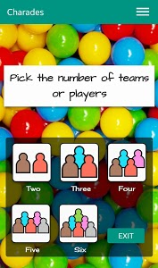screenshot of Charades - picture charades version 0.1.7