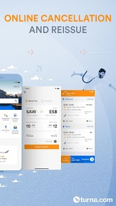 screenshot of Cheapest Flights with Turna version 1.7.8