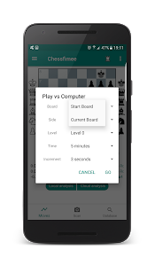 screenshot of Chessify - Chess live! Scan, analyze, play. version 2.93