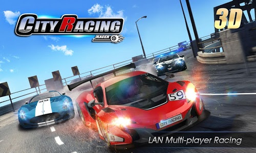 screenshot of City Racing 3D version 3.9.3179