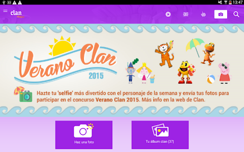 screenshot of Clan RTVE version Varies with device