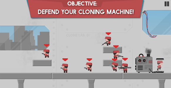 screenshot of Clone Armies version 1.36
