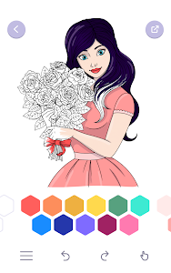 screenshot of ColorMe - Coloring Book Free version 2.1.3