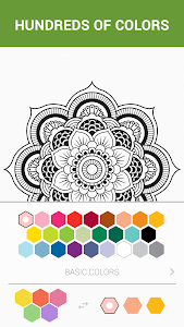 screenshot of ColorMe - Coloring Book Free version 1.3.1
