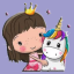 screenshot of Coloring Unicorn By Numbers version 1.0