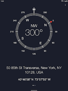 screenshot of Compass version Varies with device